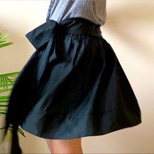Express silk skirt